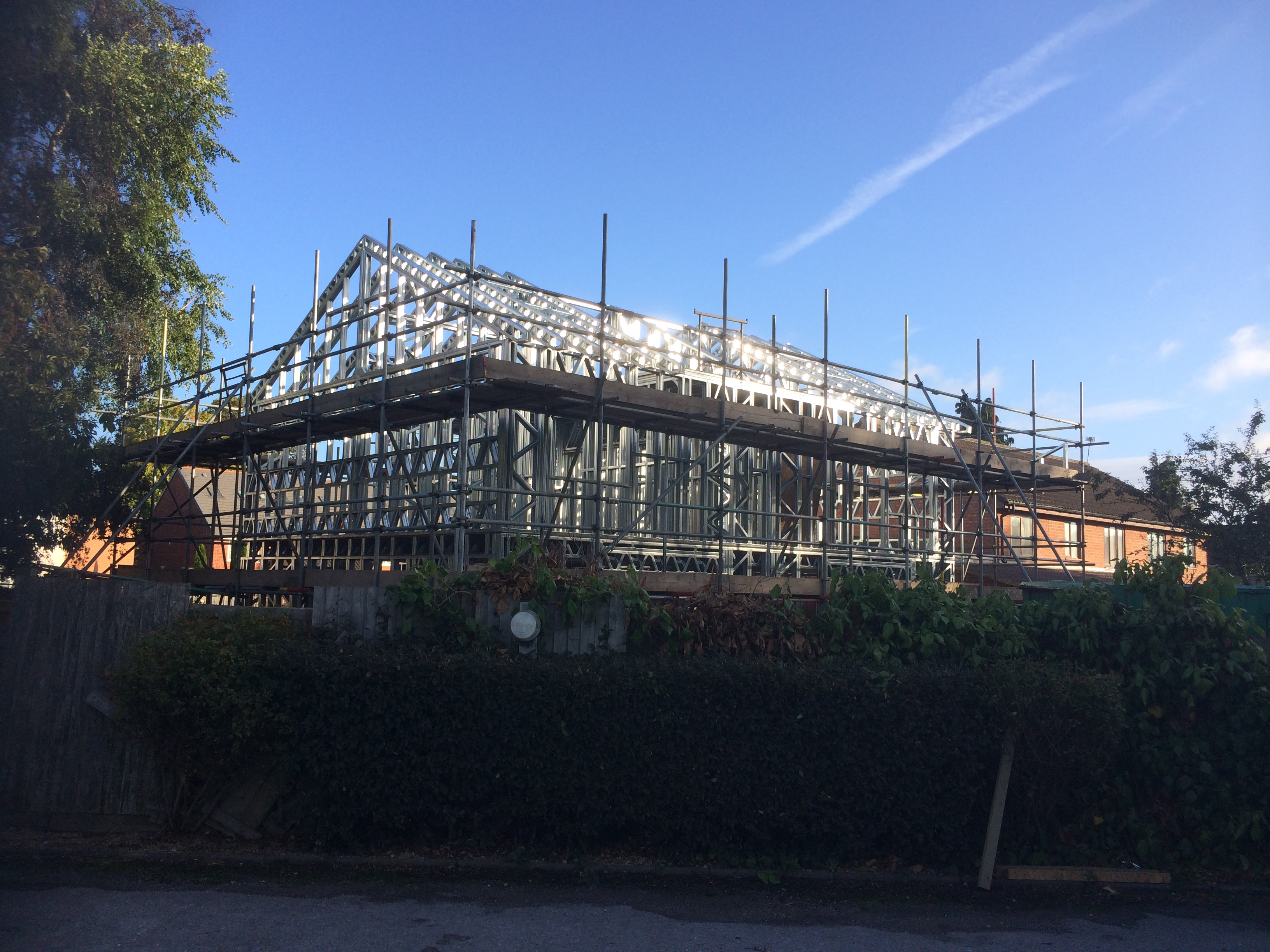New sustainable eco friendly houses built in Bedfordshire - Baltic ...